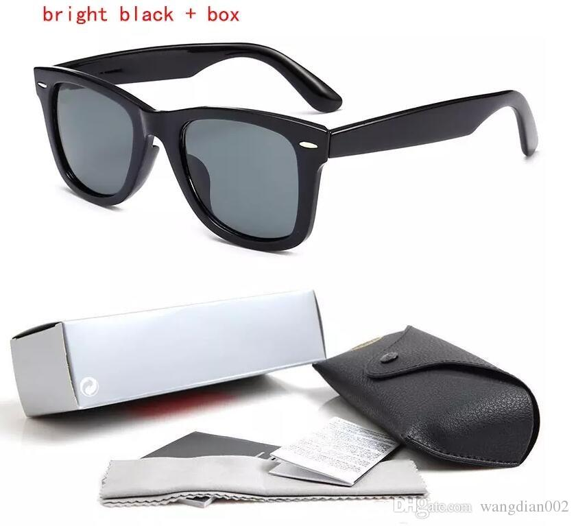 6f31b006e9a High Quality Plank Sunglasses Hot 2140 Black Frame Green Lens ...