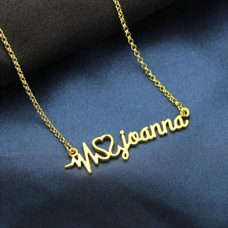Wholesale 2018 925 silver jewelry personalized name custom english wholesale 2018 925 silver jewelry personalized name custom english letters necklace business logo name necklace family jewelry students memorial owl pendant mozeypictures Choice Image
