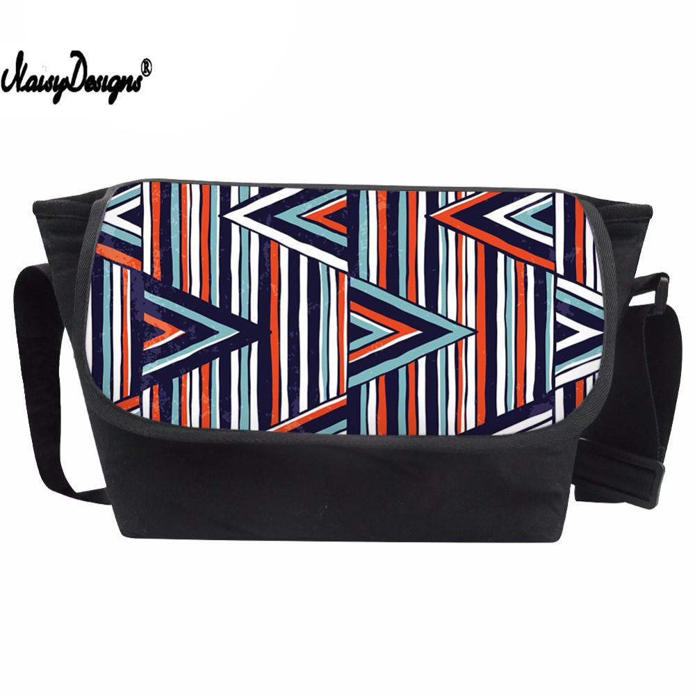 685a32197562 Messenger Bag Women Geometric Printing Crossbody Bag Teenagers National  Style Shoulder Bags For Girls Unique Satchel Leather Purse Womens Purses  From ...