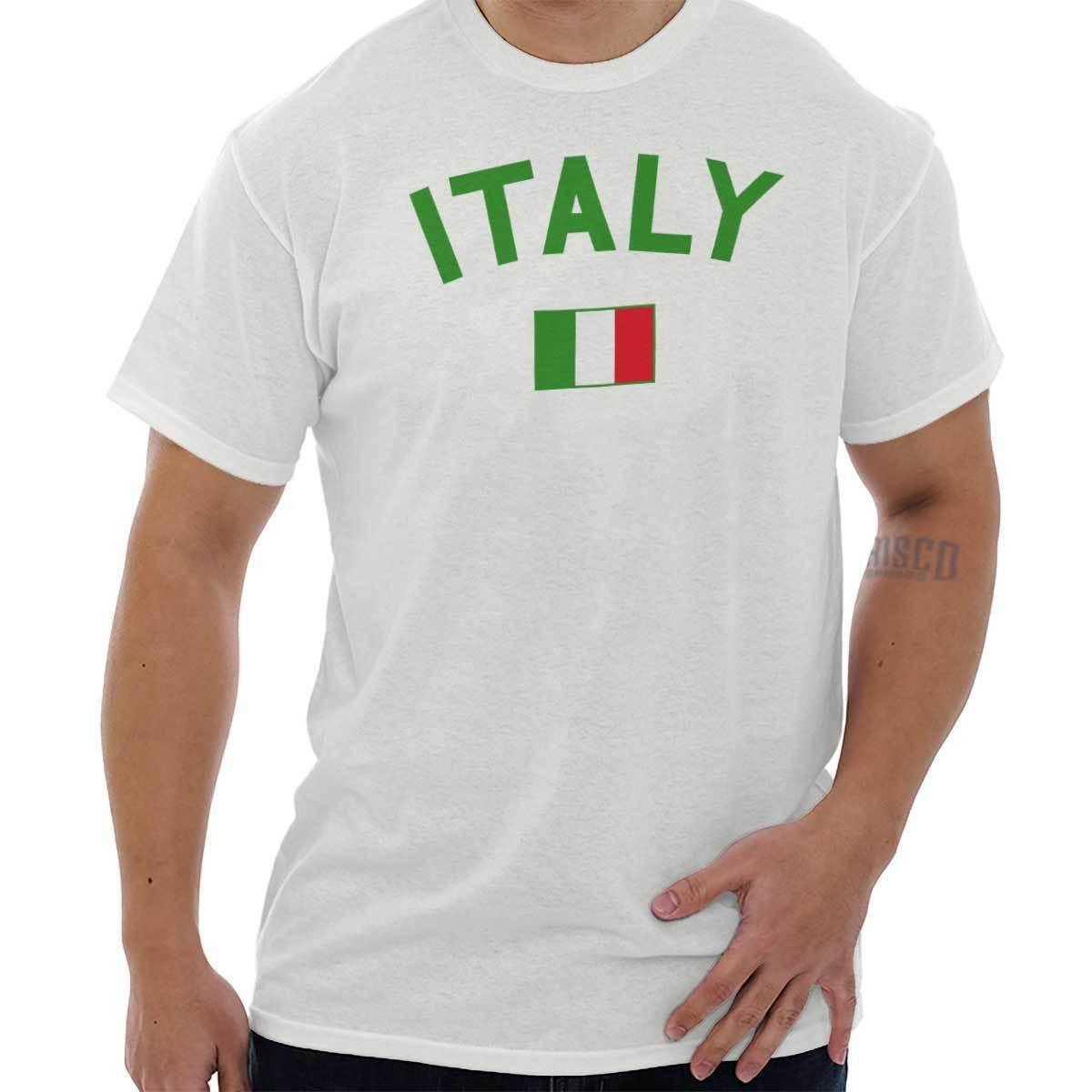 12a6858e Details Zu Italy Flag World Cup Soccer Italian National Flag Pride T Shirt  Tee Funny Unisex Casual Tee Gift Funny T Shirts For Men Make T Shirts From  ...
