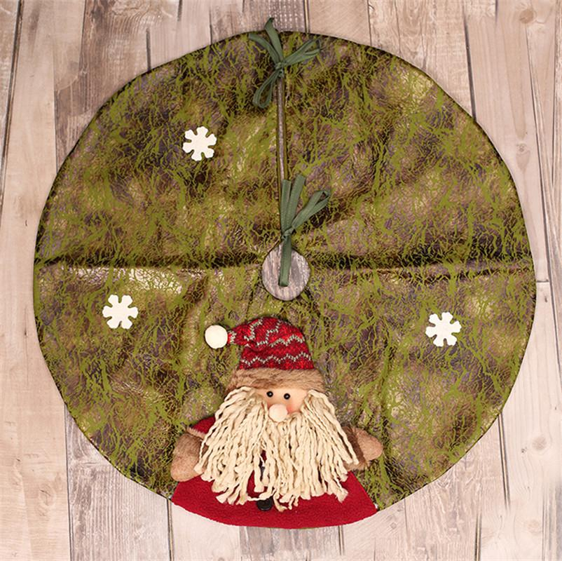 extra large 60 christmas tree skirt for christmas decorations cheap 3d tree ornaments decorations for home house xmas decorations houses with christmas