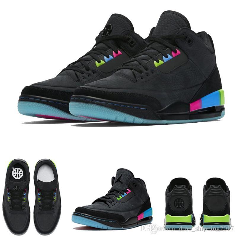 8bef6e4f42ad Quai 54 MENS Basketball Shoes CHARITY GAME KAWS KATRINA Pink Green ...