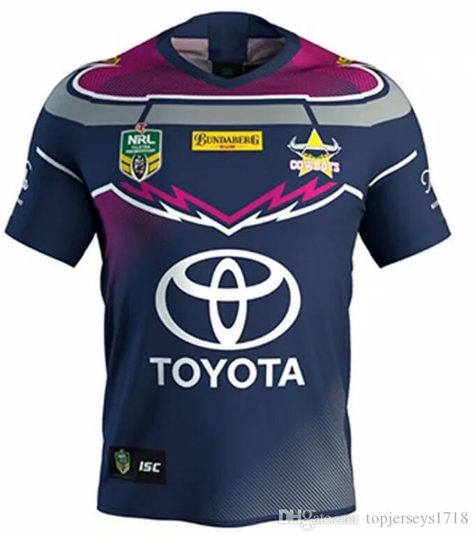 North Queensland Cowboys Rugby Jerseys 2018 Home Away Jersey NRL National  Rugby League Nrl Jersey Australia Shirt S 3xl UK 2019 From Topjerseys1718 7b2559388