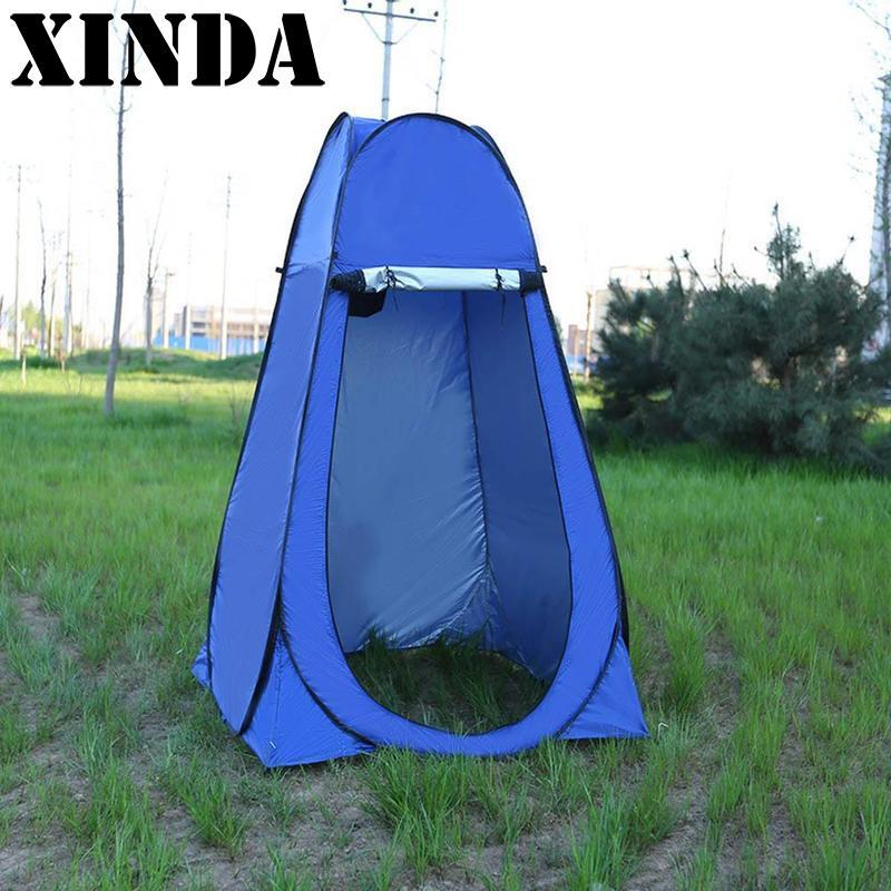 New Zipper Pop Up Changing Room Toilet Shower Fishing Camping - Camping bathroom tent