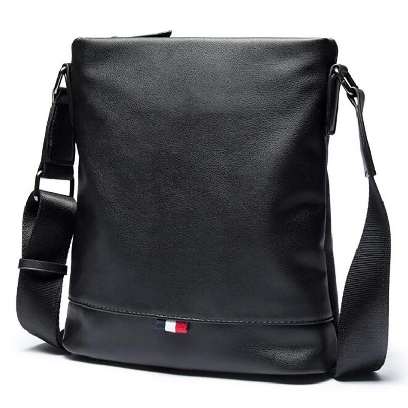 Men Bag Crossbody Bag Shoulder Men Messenger Bags Fashion Small Casual  Designer Handbags Man Bags Bolsas Male PU Leather Black Leather Tote Bags  Clutch ... 4560bd8606469