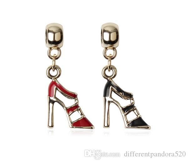 charm pandora scarpa con tacco