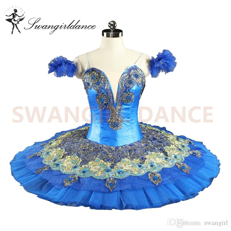 8ddae42587ca 2019 Women Blue Bird Professional Ballet Tutus Girls Classical Ballet Tutu  Adult Ballet Stage Costumes La Fille Du Performance TutuBT8981 From  Swangirl, ...