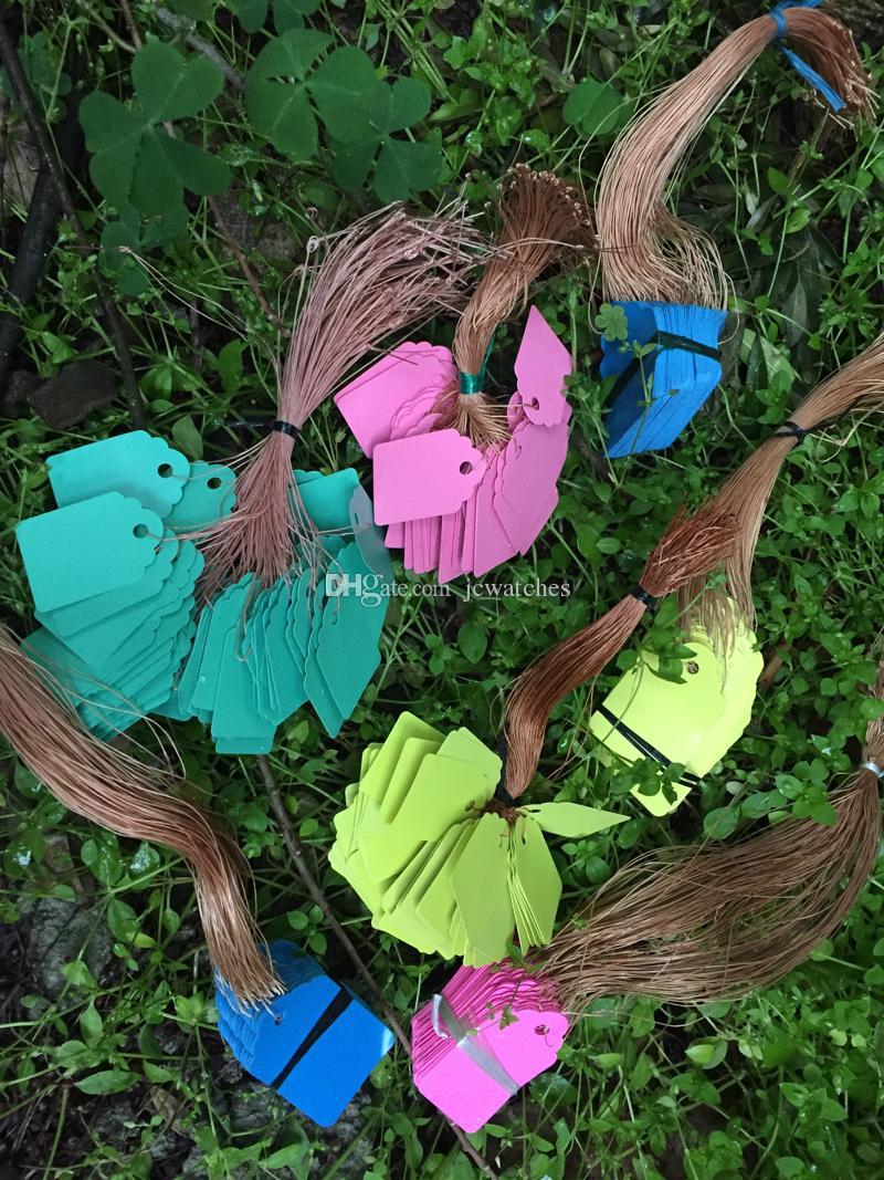 Étiquettes de marques et marques de marques de plantes Étiquette en plastique de pot de fleurs de jardin de Seedling