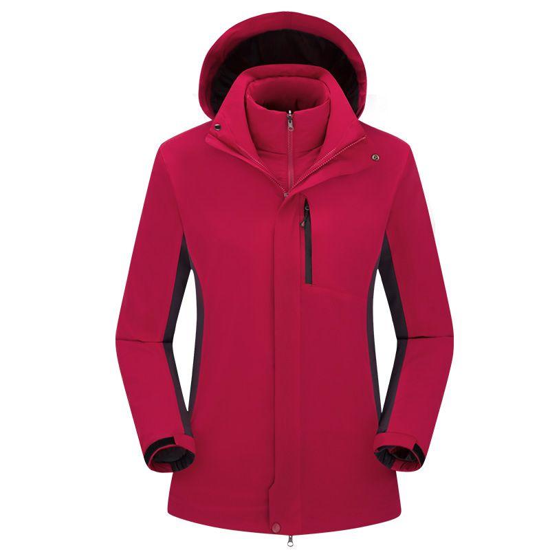 f3a977aa20857 2019 Ski Jackets Men Jacket Hiking Clothing Heated Sport Hunting Clothes  Winter Fleece Trekking Mammoth Outdoor Waterproof Fishing Coat Softshell  From ...