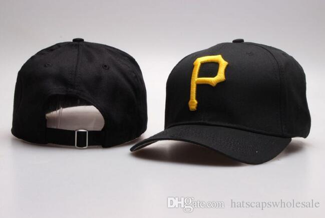 Classic Black Color Golf Visor Pirates Snapback Hats Embroidered Gold P  Letter Bones Sports Gray Color Baseball Flat Caps For Men S Women S Snapback  Cap ... 691d48725ad