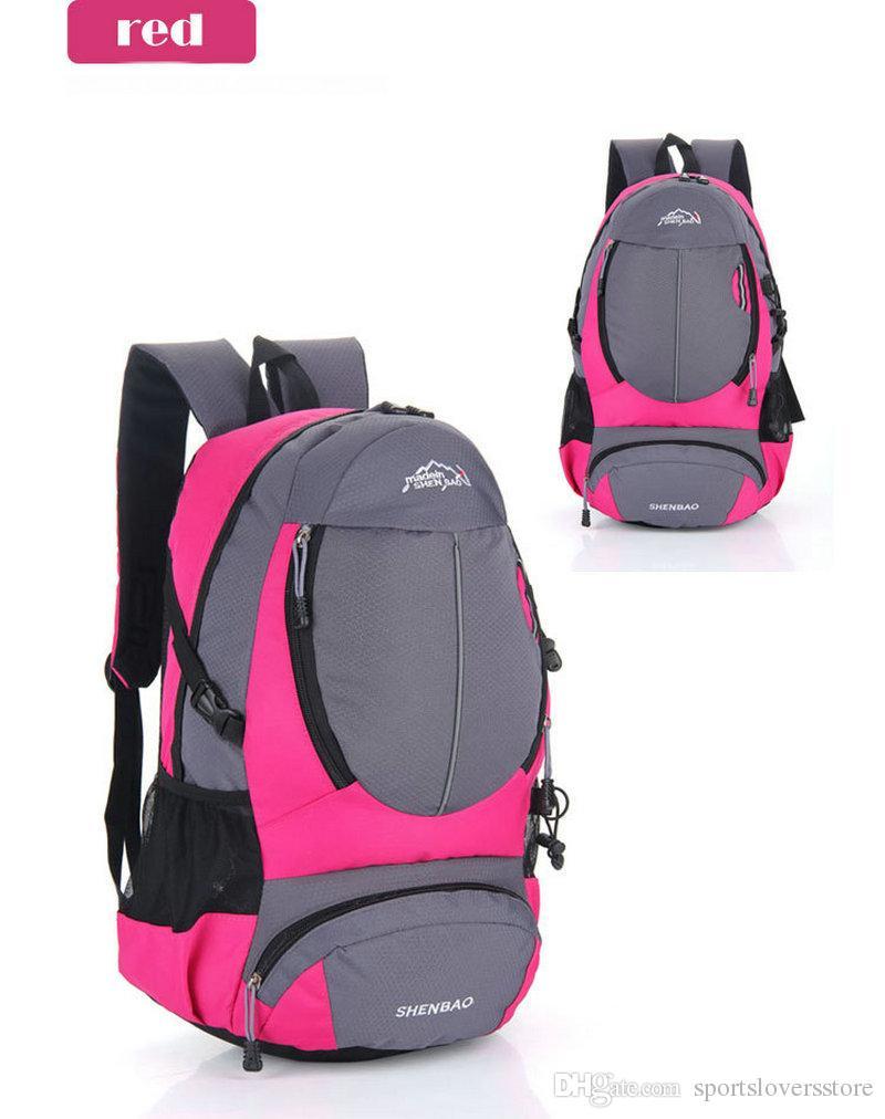 Outdoor Backpacks Unisex Travel Multi-purpose Climbing backpacks Hiking big capacity Rucksacks Camping Sports Bags Multicolors
