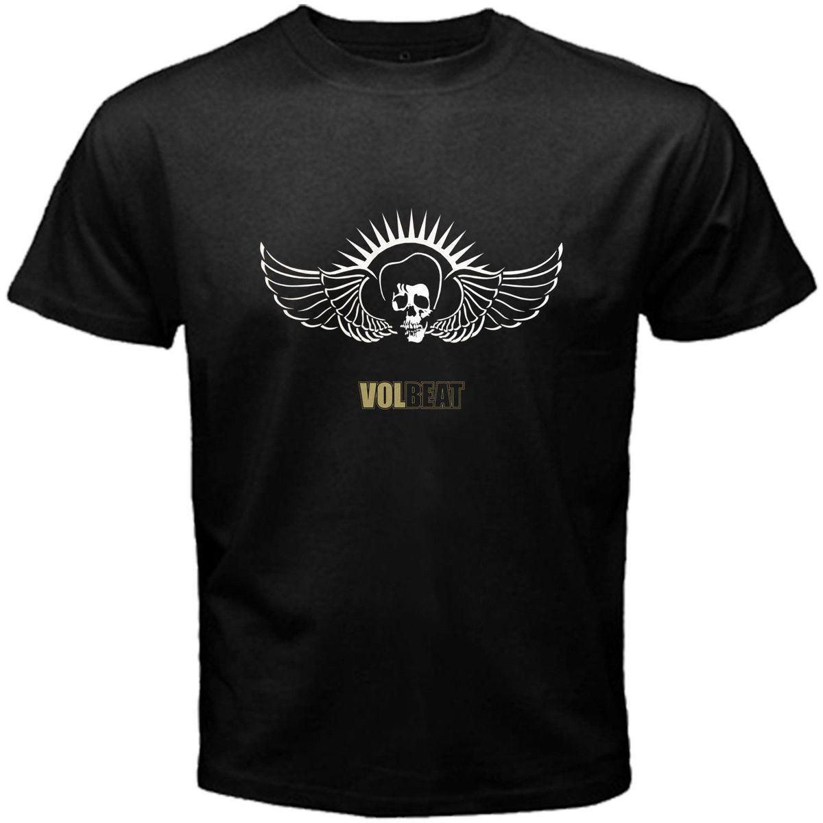 Volbeat Tour LOGO Lady Black T-shirt Woman Rock Band Shirt