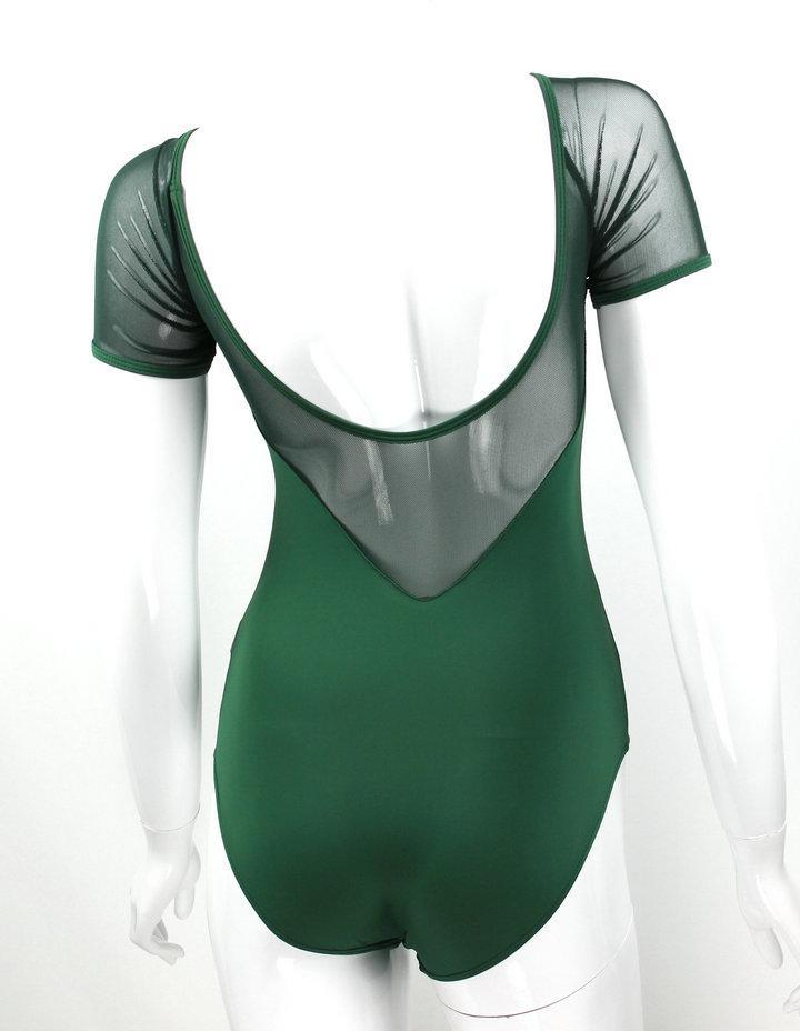 Acheter Maillot De Bain Gymnastique Gymnastique Justaucorps Ballet Tutu  Danse Danse Jupe Robe Costume Du Corps Plat Combinaison Maillots De Bain  Costumes ... 71767357d729