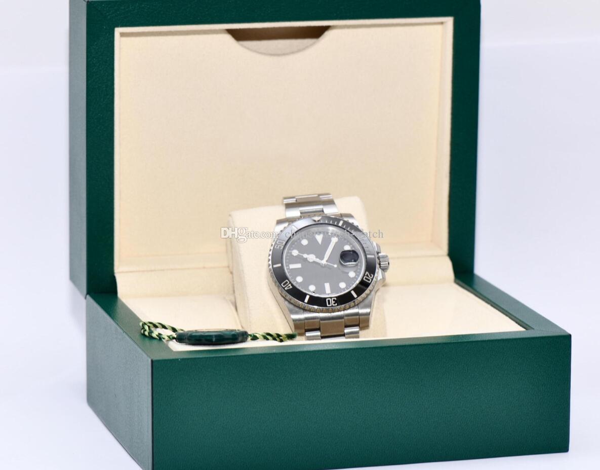 4a06abc1f37 Compre Movimento Automático De Alta Qualidade De Luxo Preto Moldura De  Cerâmica 40mm Mens Relógios Aço Inoxidável Relógio De 116618lb Dos Homens  Originais ...