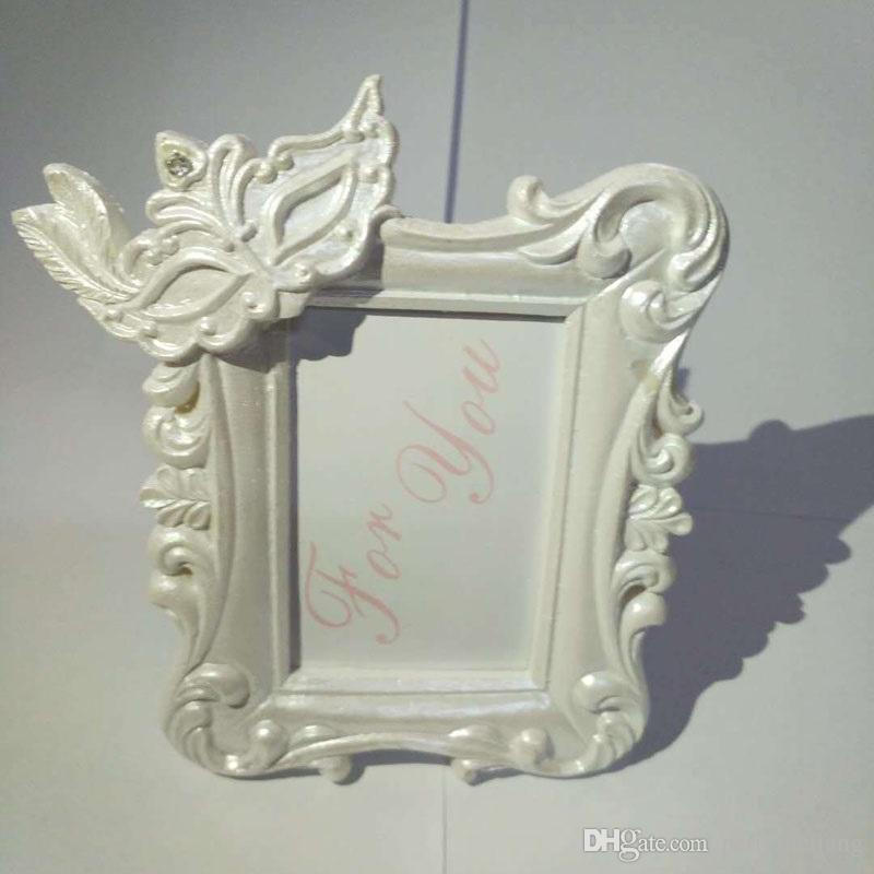 Mardi Gras Masked Theme Picture Place Card Frame Wedding Favors