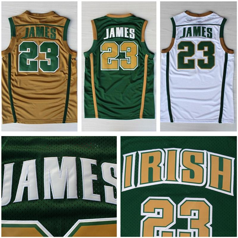 new style ea8a9 673f5 discount code for lebron james high school jersey authentic ...