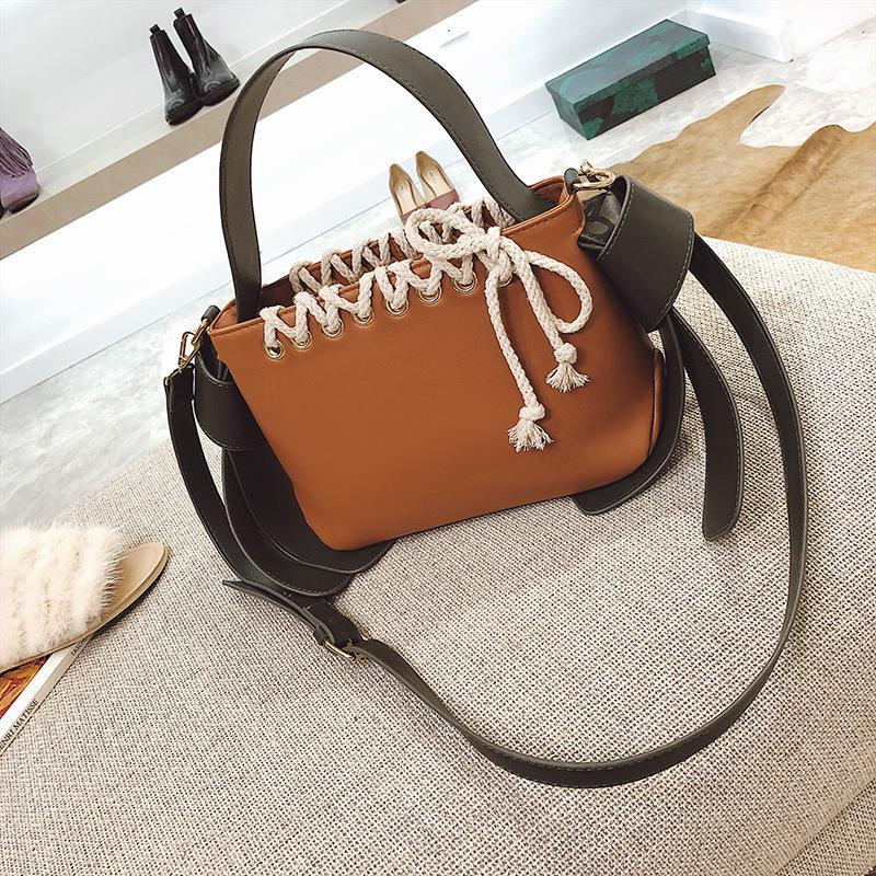 Bags Handbags Women Famous Brands Designer Female Bags PU Leather Shoulder  Bag Wild Wide Strap Messenger Bag Handbag Purses High Quality Luxury Bags  ... 2d058b9861b24