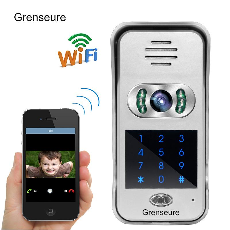 Genial New Code / Keypad Wireless Wifi 720P HD Video Intercom Door Phone For IPad  Phone Remote Monitor / Unlock WHOLESALE Video Entry Phones Video Front Door  From ...