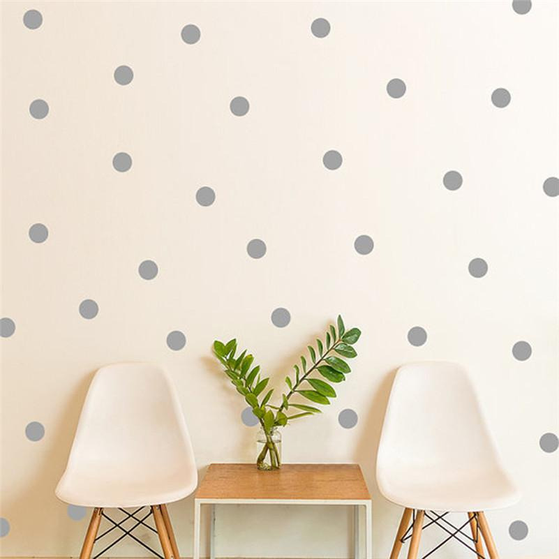 mini polka dots wall sticker nursery kids rooms children wall decals