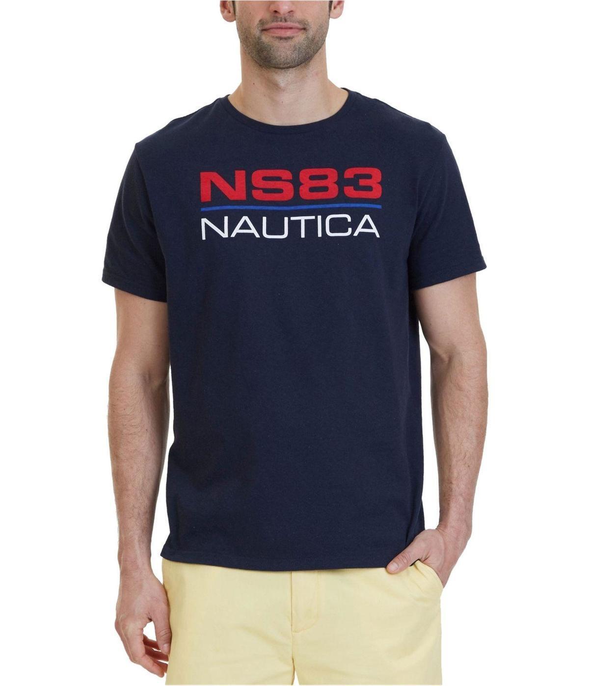 5a1301735cd33 Compre Camiseta Nautica Hombre NS83 Graphic A  14.67 Del Linnan00004 ...