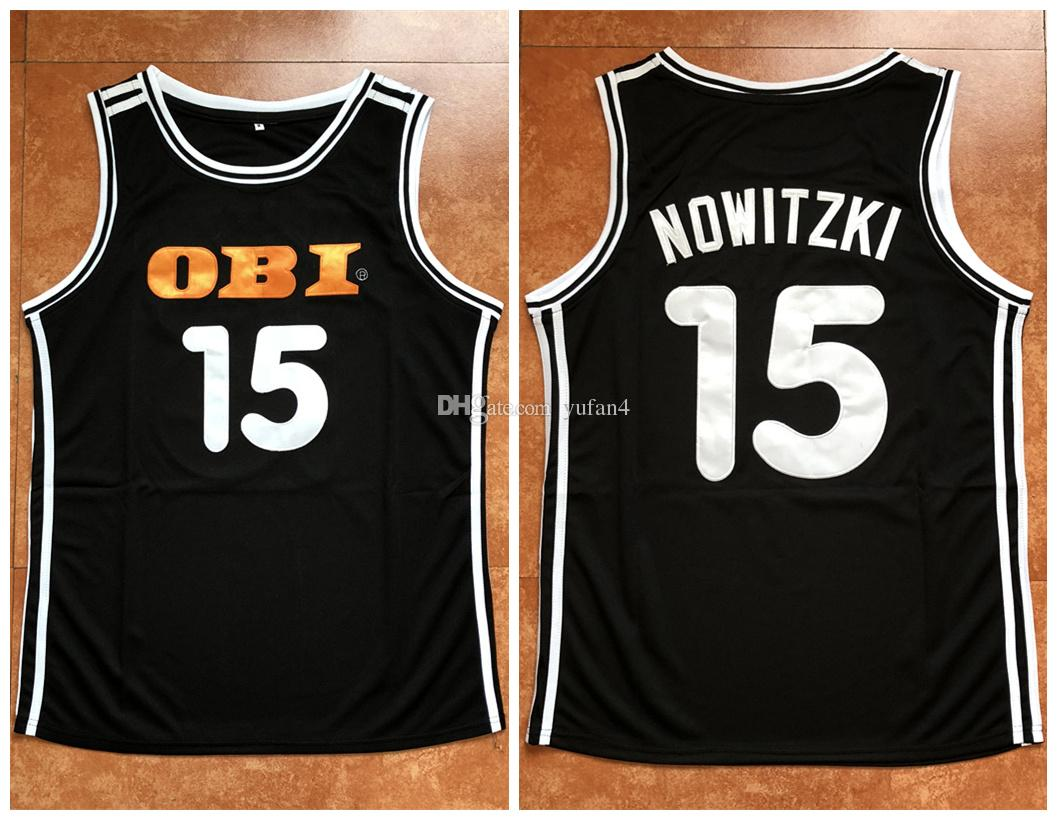 2019  15 Dirk Nowitzki Germany National Team Retro Classics Basketball  Jersey Mens Stitched Custom Number And Name Jerseys From Yufan4 9408abcdb