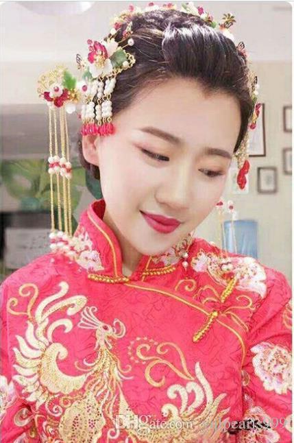 2018 new bride headdress headdress costume styling hair Coronet wedding accessories