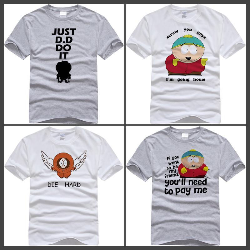 f6f68e88f5f9d South Park Cartman T Shirt Gets An Anal Probe South Park Shirt Cartman Top  Tees T Shirt Screw You Guys Men T Shirts Geek T Shirts From Sah870101