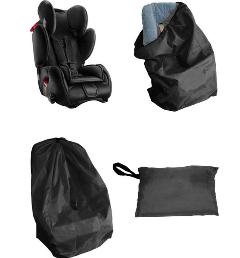 2018 Black Portable Car Seat Travel Bag For Baby Child Safety Dust Protection Cover Travelling Stroller From Humom 2308