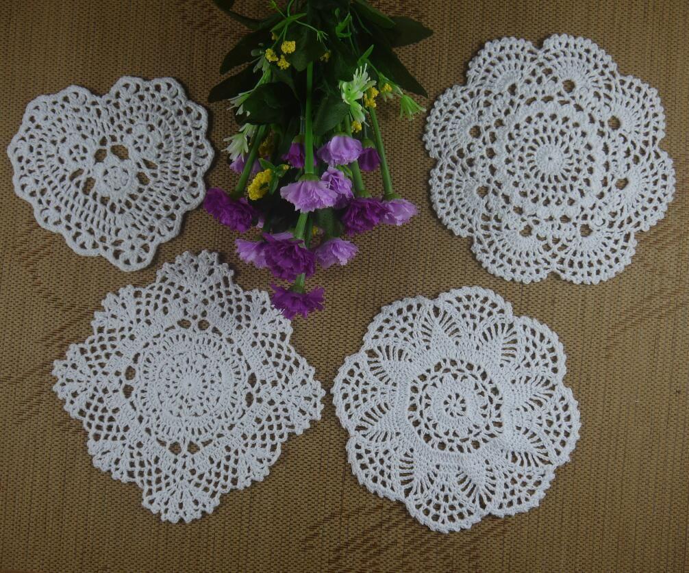 Wholesale cotton hand made crochet doily designs