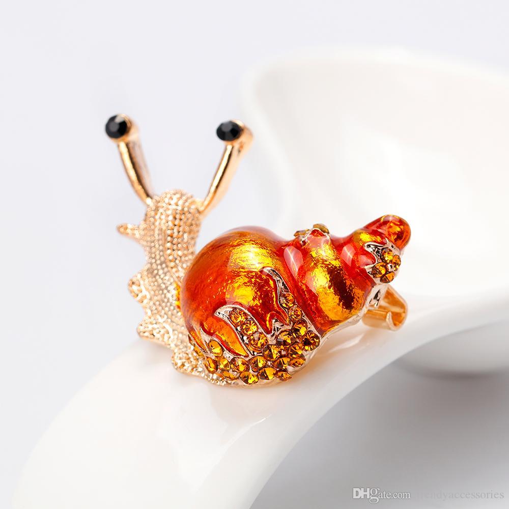 Broches d'escargots pour femmes