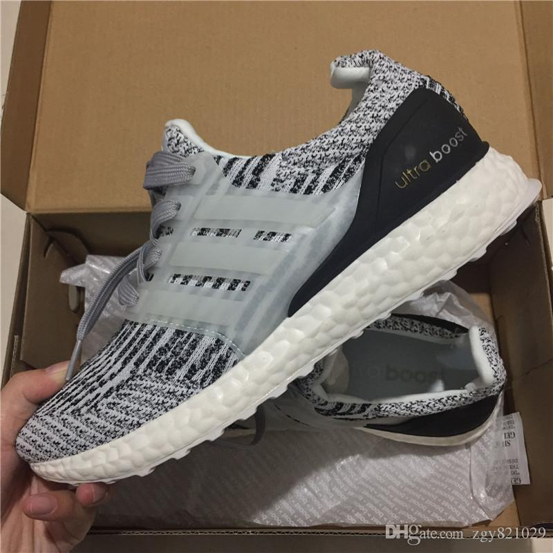 info for 73993 5485b Acquista 2018 Nuova Adidas Originals UltraBoost 3.0 Ltd W 4.0 Sneakers X Ultra  Boost Scarpe Da Corsa Uomo Donna Alta Qualità Ultra Boost 3 III Bianco Nero  ...