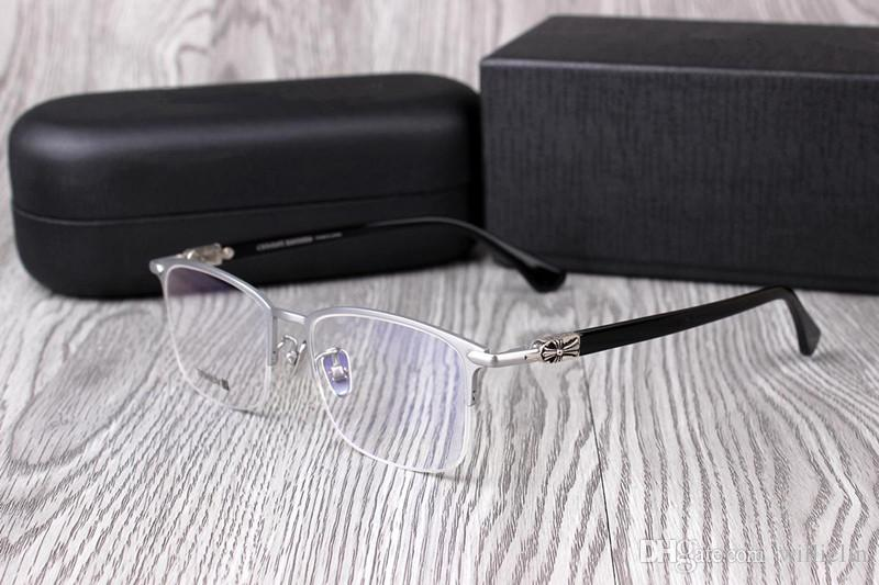 471c8fac00b Men Eyeglasses Frames Pure SUGAR Titanium Glasses High Quality Frames  Matching Degree Lenses Prescription Glasses with Original Box Fashion  Accessories ...