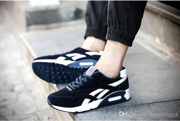 Senior suede men's shoes men lazy pedal male deodorant shoes Spring and autumn Flat shoes 39-44 n93