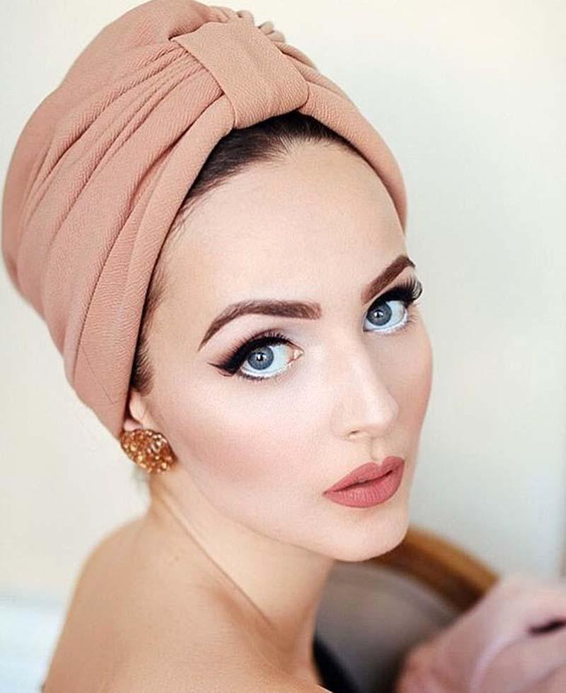 b1e847a80e8 New Women Luxury Bow Turban Hat Stylish Chemo Cap Detachable Bowknot Womens  Hair Bows Babies Hair Accessories From Hilarye