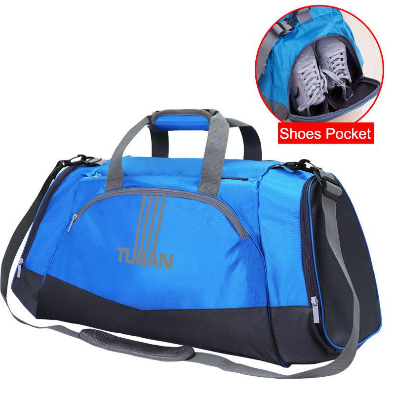 3a5da34eccaf 2019 Dry Wet Gym Bags Travel Swimming Shoulder Bag Handbags Outdoor Sports  Shoulder Bag For Men Large Fitness Training Shoes XA406WA From Duriang