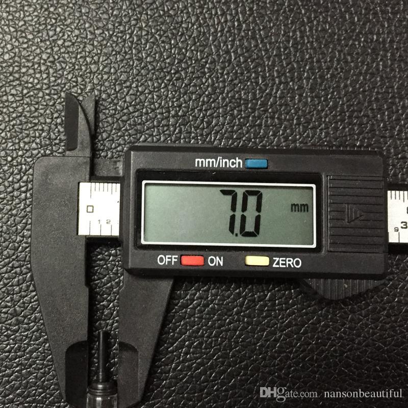 Yeni 600D-G Kaş Dudaklar Tattoo için 4F Düz Steril tek kullanımlık Kalıcı Makyaj Kalem Rotary Dövme Makinası iğneler