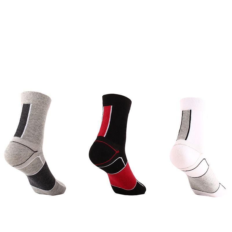 481927b8840 2019 Fit EU39 40 Women Men Knee High Sock Cycling Bike Socks Running Outdoor  Wear Resisting Knit Sports Socks MTB CYJRB7702 From Hongmihoutao