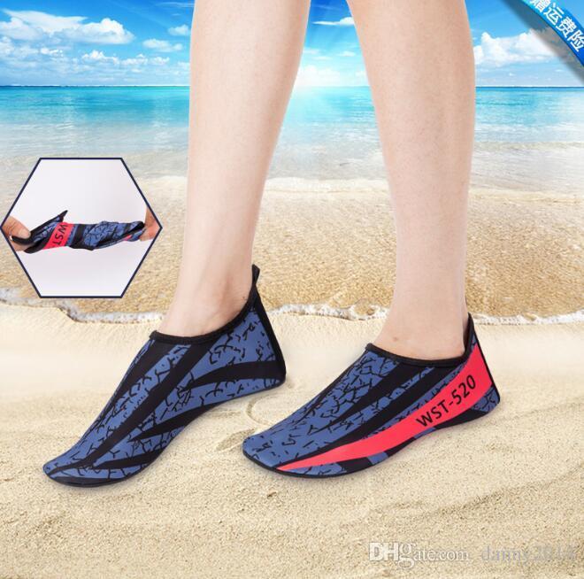 6f907081733f Quick-Dry Beach Socks Barefoot Water Shoes Swim Shoe Socks Sand Socks For  Beach Surf Pool Swim Yoga Shoes Water Shoes Beach Shoes Swimming Shoes  Online with ...