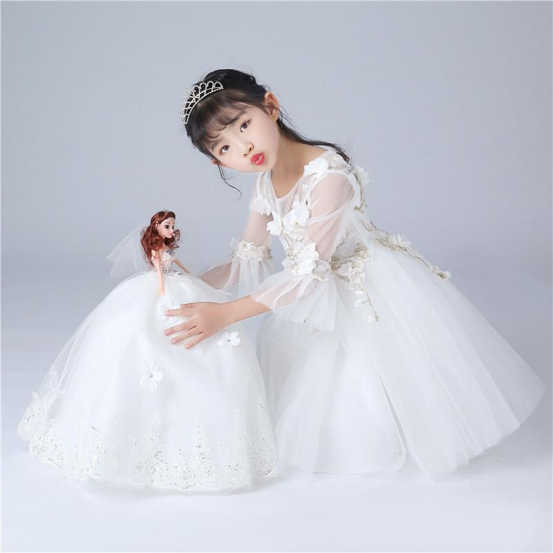 Wedding dress doll snow white wedding veil fashion high end wedding wedding dress doll snow white wedding veil fashion high end wedding birthday gift star dolls clothes for 14 inch dolls from hushhushhome 1759 dhgate junglespirit Image collections