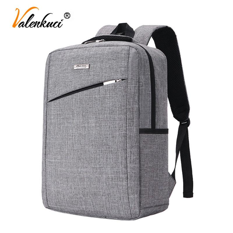 5183d4a4e34 Men Backpacks 15 Inch Laptop Backpack For Men School Office Canvas Business Backpack  Bag For Boy Male Travel BD 222 Mens Backpacks Swiss Army Backpack From ...