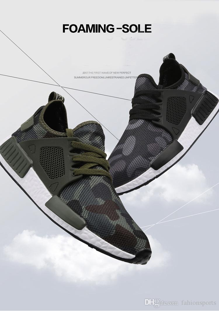 Men Casual Shoes Spring Summer Fashion Man Shoes Hombre Army Green Mens Shoes Casual Camouflage Footwear Large Size