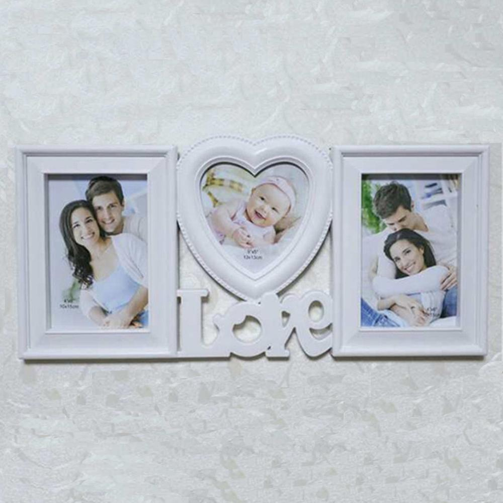 2018 Sweet Love Photo Picture Frame Red Heart Shape With Two ...