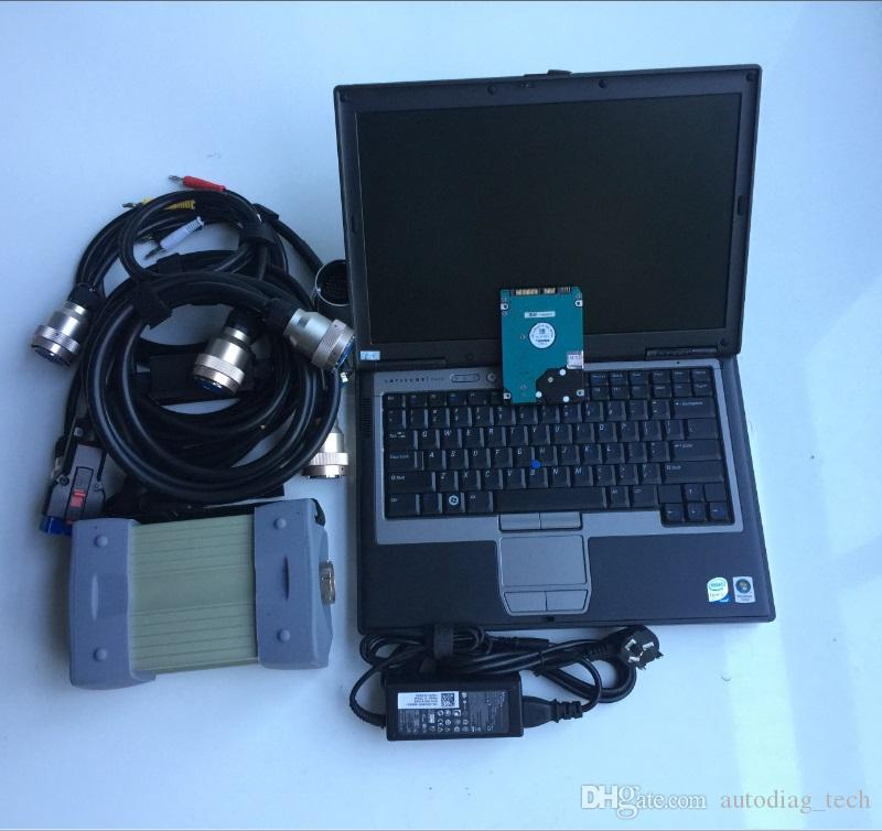 for mb star c3 Diagnostic Tools with laptop d630 with soft-ware super full set for car scanner