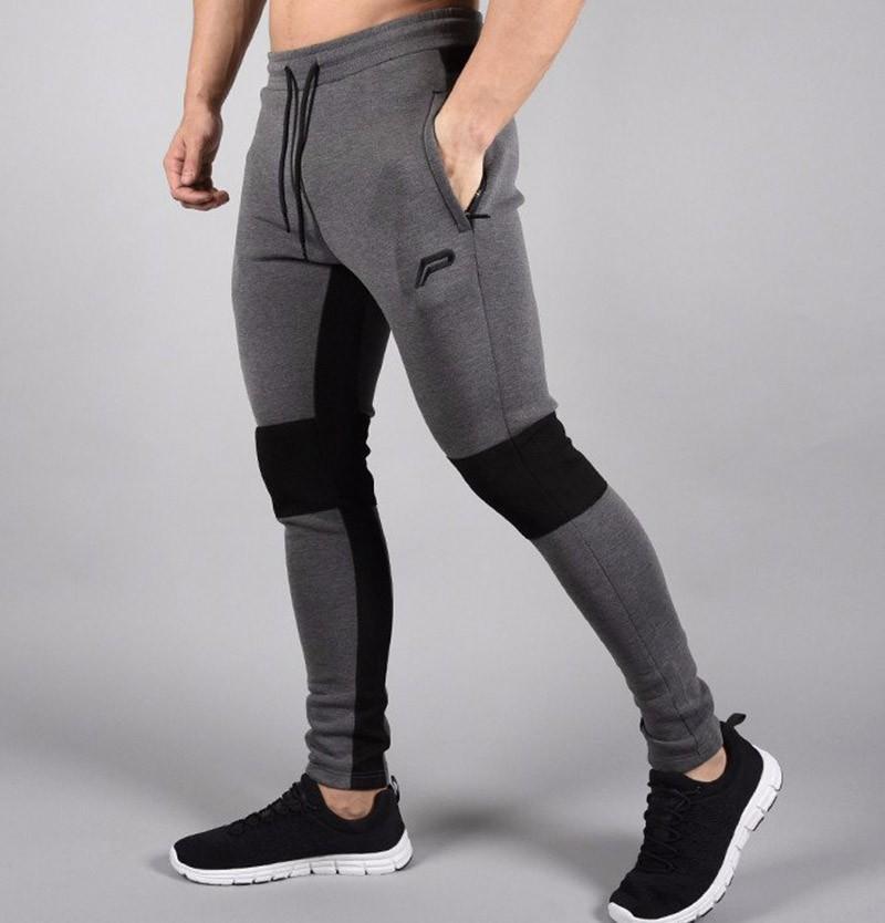 Acheter Gymclothing Date 2018 Hommes Pantalon De Jogging Casual Élastique  Coton Pantalon Homme Vêtements De Sport De Style De Mode Pantalon Tactique  Fitness ... f94f2cc3262