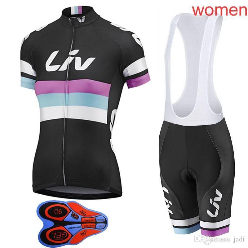2018 Women Mountain Racing Bike Clothing Set Liv Breathable Bicycle ... 6f3d2b776
