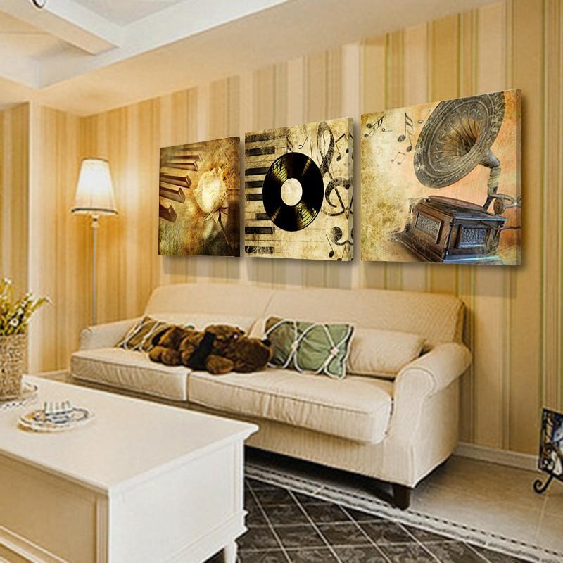 Grosshandel Dekoration Wohnzimmer Wand Bild Leinwand Malerei Drucken