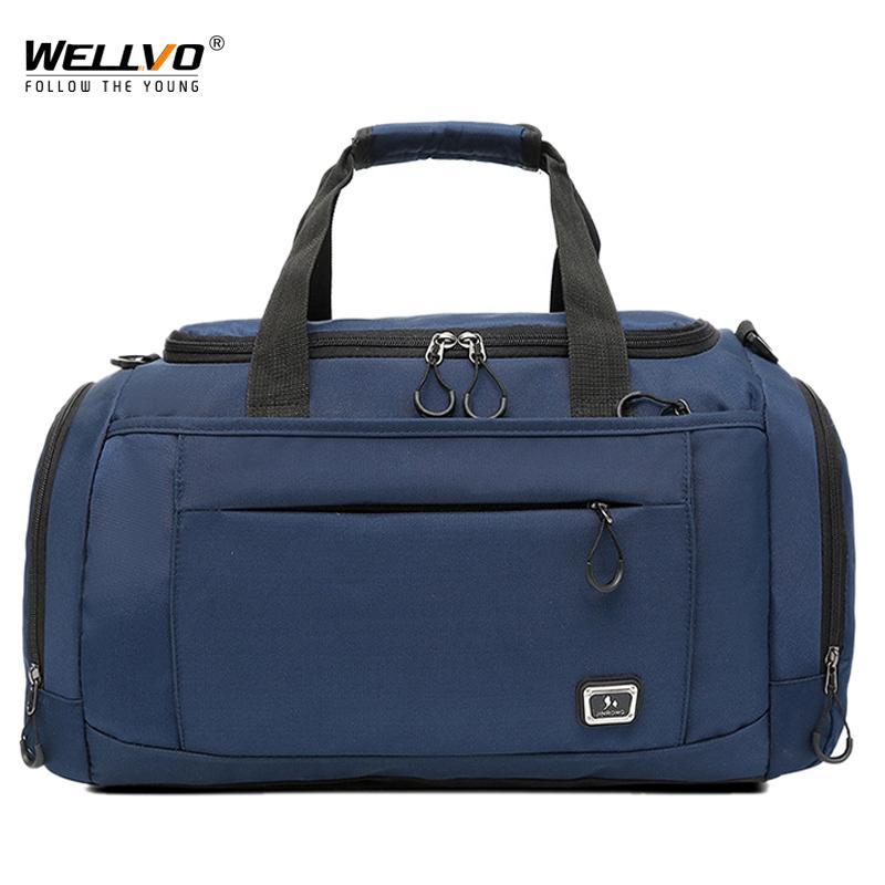 Wellvo Oxford Men Fashion Travel Duffel HandBags Large Women Travel Luggage  Bag Tote Weekend Portable Male Crossbody Bag XA72ZC Canada 2019 From  Grapeen 00e60e4665b5a