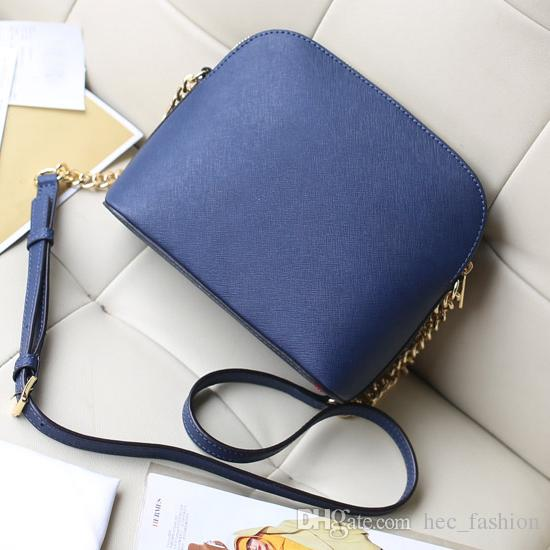 Women Brand Classic Shell Crossbody bag Shoulder Bag MKOES Chain Flap Lady Mini Candy Small Bag Multicolor