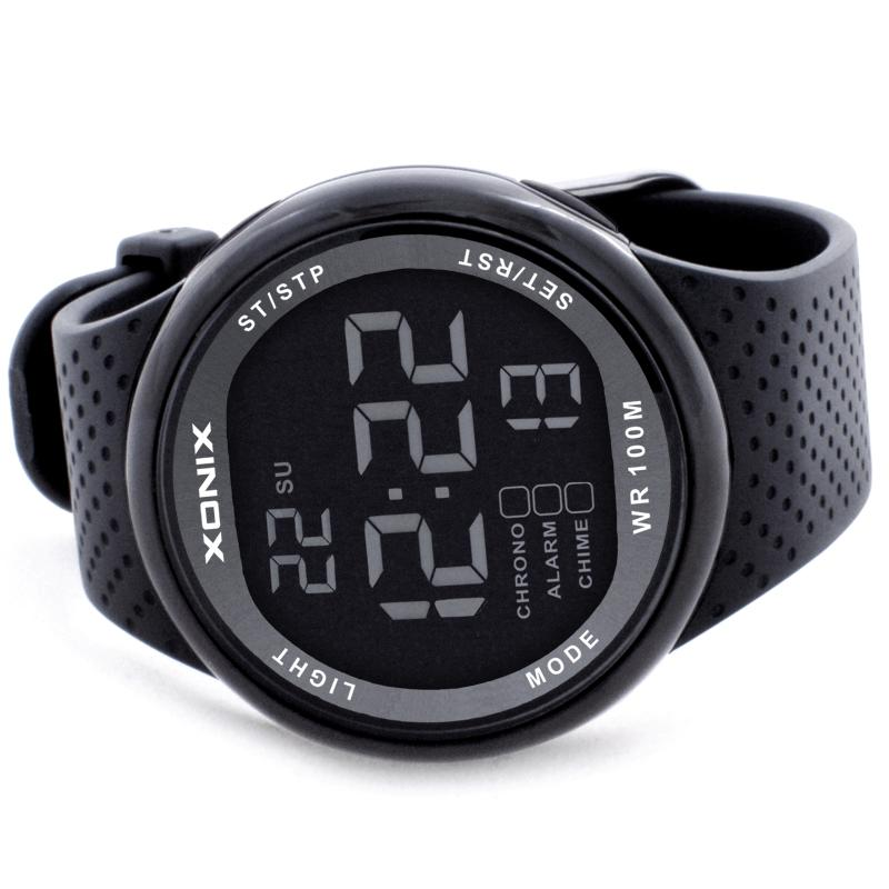 23f9cd54ae14 XONIX Sports Watches Waterproof 100m Outdoor Digital Watch Swimming Diving  Wristwatch Reloj Hombre Montre Homme Wrist Watch Online Buy Wrist Watch  Online ...