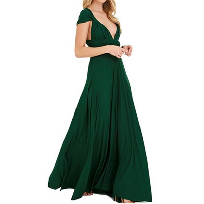 Dress Women Long Summer Convertible Bohemian Dresses Casual Bandage Evening  Prom Club Party Infinity Multiway Maxi Dresses Dresses For Evening Party  Party ... 9bb6ef313b84